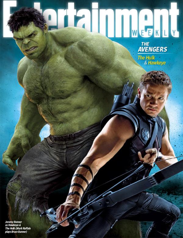 EW Avengers Hulk & Hawkeye cover